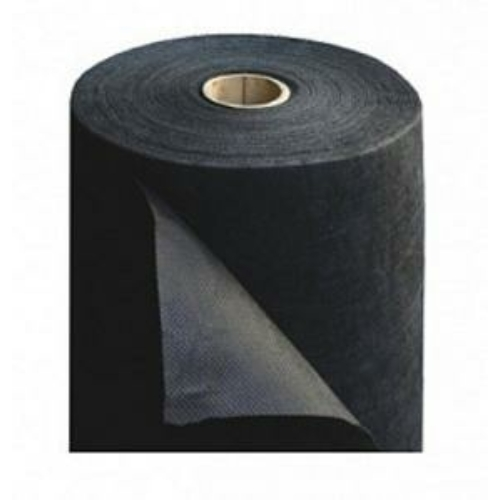 Talajtakaró fekete geotextilia 1,60m x 100m 50g/m2 UV stab.