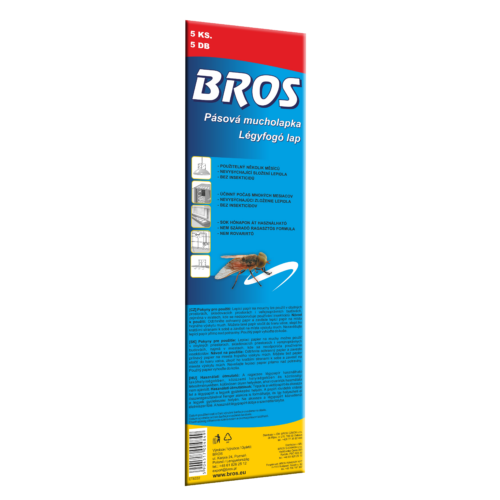 Bros légyfogó lap 10x32 cm